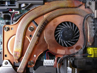 reparatie laptop fan